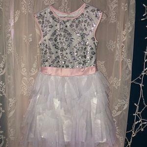 Jona Michelle  sparkle fancy dress girls sz 8
